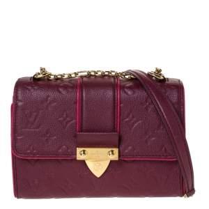 Louis Vuitton Aurore Monogram Empreinte Leather Saint Sulpice Bag