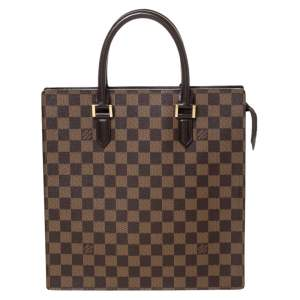 Louis Vuitton Damier Ebene Canvas Venice Sac Plat Bag