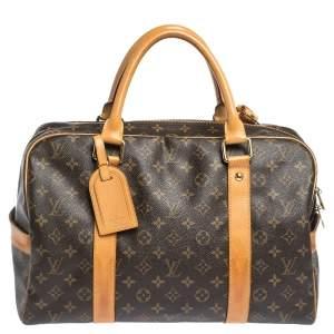 Louis Vuitton Monogram Canvas Carryall Duffel Bag