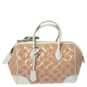 Louis Vuitton Rose Monogram Limited Edition Speedy Bouclettes Round Bag