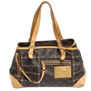 Louis Vuitton Monogram Canvas Riveting Bag