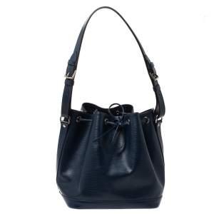 Louis Vuitton Indigo Epi Leather Petit Noe Bag