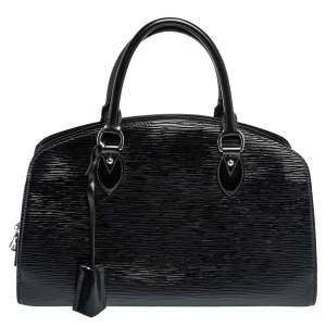 Louis Vuitton Black Electric Epi Leather Pont Neuf PM Bag