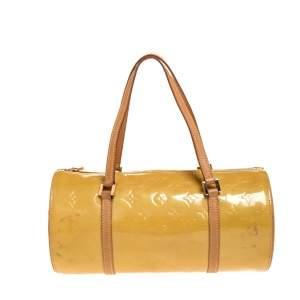 Louis Vuitton Beige Monogram Vernis Bedford Bag