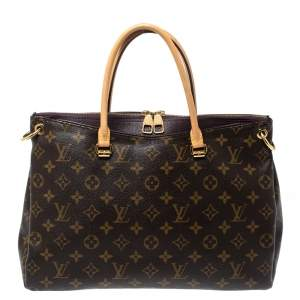 Louis Vuitton Monogram Canvas Pallas Bag