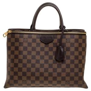 Louis Vuitton Damier Ebene Canvas Brompton Bag