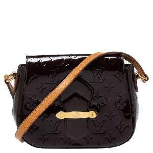 Louis Vuitton Rouge Fauviste Monogram Vernis Bellflower PM Bag