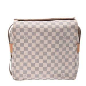 Louis Vuitton Damier Azur Canvas  Naviglio Messenger Bag