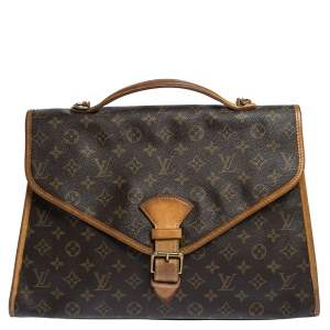 Louis Vuitton Monogram Canvas Vintage Beverly Briefcase GM Bag