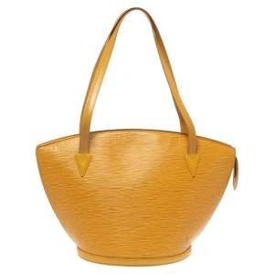 Louis Vuitton Tassil Yellow Epi Leather Saint Jacques GM Bag