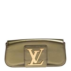 حقيبة كلتش لوي فيتون سوب جلد فيرنيه خضراء فرت