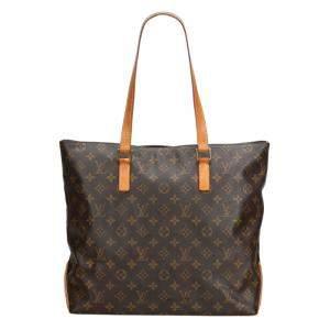 Louis Vuitton Monogram Canvas Cabas  Mezzo Shoulder Bag