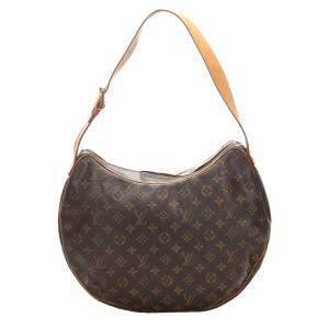 Louis Vuitton Monogram Canvas Croissant GM Bag