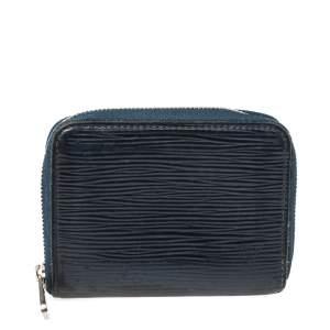 Louis Vuitton Indigo Epi Leather Zippy Coin Purse