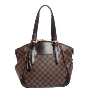 Louis Vuitton Damier Ebene Canvas Verona MM Bag