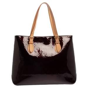 Louis Vuitton Amarante Monogram Vernis Brentwood Bag