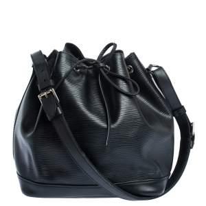 """حقيبة لوي فيتون """"بتي نوي"""" جلد إيبي أسود"""
