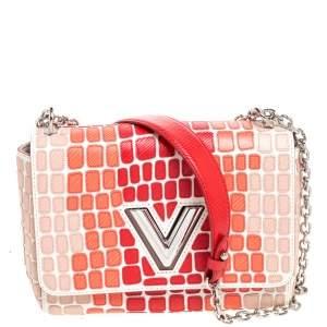 Louis Vuitton Multicolor Patchwork Epi Leather Twist MM Bag