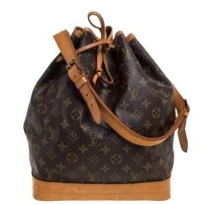 Louis Vuitton Monogram Canvas Vintage Noe Bag