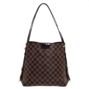 Louis Vuitton Damier Ebene Canvas Rivington GM Bag