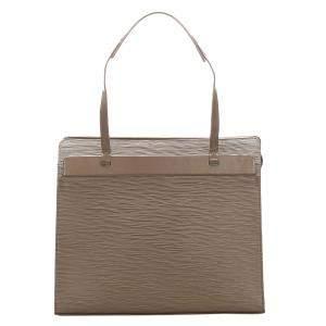 حقيبة لوي فيتون كروازيت جلد أيبي بنية PM