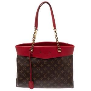 Louis Vuitton Cerise Monogram Canvas Pallas Shopper Tote Bag