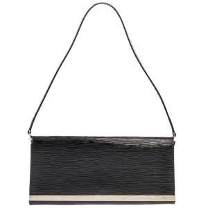 """حقيبة لوي فيتون """"سيفيغن"""" جلد إيبي أسود إليكتريك"""