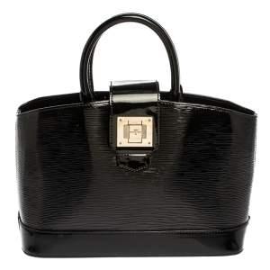 حقيبة لوي فيتون ميرابيو جلد أيبي إليكتريك سوداء PM