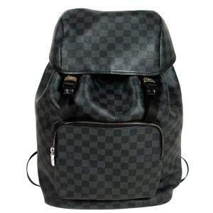 Louis Vuitton Damier Graphite Canvas Zack Backpack