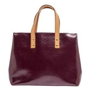 حقيبة يد لوي فيتون ريديه فرنية مونوغرامي عنابية PM