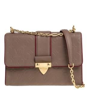 حقيبة لوى فيتون سانت سلبيس جلد إمبرانت مونوغرامية برونزية PM