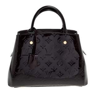 Louis Vuitton Terre D'Ombre Monogram Vernis Montaigne BB Bag