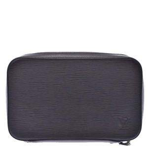 Louis Vuitton Black Epi Leather Dandy Wallet