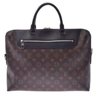 Louis Vuitton Monogram Canvas Macassar Porte-Documents Jour Bag