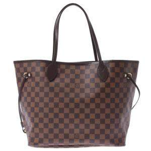 Louis Vuitton Damier Canvas Neverfull MM Tote Bag