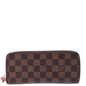 Louis Vuitton Damier Canvas Portefeuille Clemence Wallet