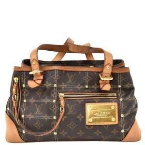 Louis Vuitton Monogram Canvas Riveting 2007 Limited Edition GM Bag