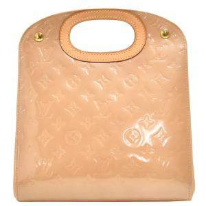 Louis Vuitton Maple Drive Noisette Beige Vernis Leather Handbag