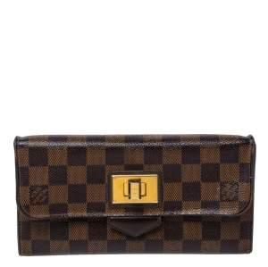 Louis Vuitton Damier Ebene Canvas Rosebery Wallet