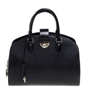 """حقيبة لوي فيتون """"بونت نوف جي إم"""" جلد إيبي أسود"""