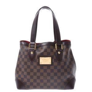 Louis Vuitton Damier Ebene Canvas Hampstead PM Bag