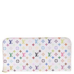 Louis Vuitton White Monogram Canvas Insolite Wallet