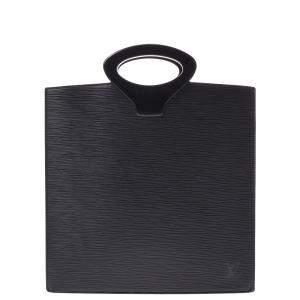 """حقيبة لوي فيتون """"اومبري"""" جلد إيبي أسود"""