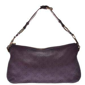 Louis Vuitton Purple Monogram Mahina leather Onatah Pochette Bag