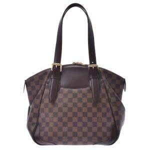 Louis Vuitton Brown Damier Ebene Canvas Verona MM Bag
