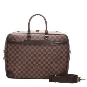 Louis Vuitton Damier Ebene Canvas Porte-Documents Voyage Bag