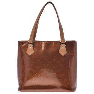 Louis Vuitton Brown Monogram Vernis Houston Bag