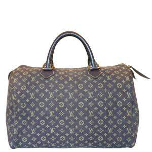 Louis Vuitton Mini Lin Canvas Speedy 30 Bag