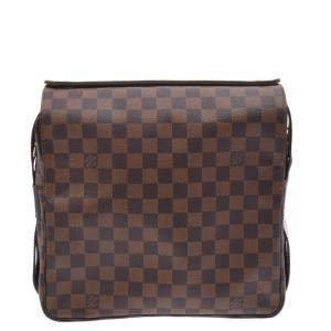 Louis Vuitton Brown Damier Canvas Naviglio Messenger Bag