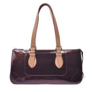 Louis Vuitton Brown Monogram Vernis Rosewood Avenue Bag